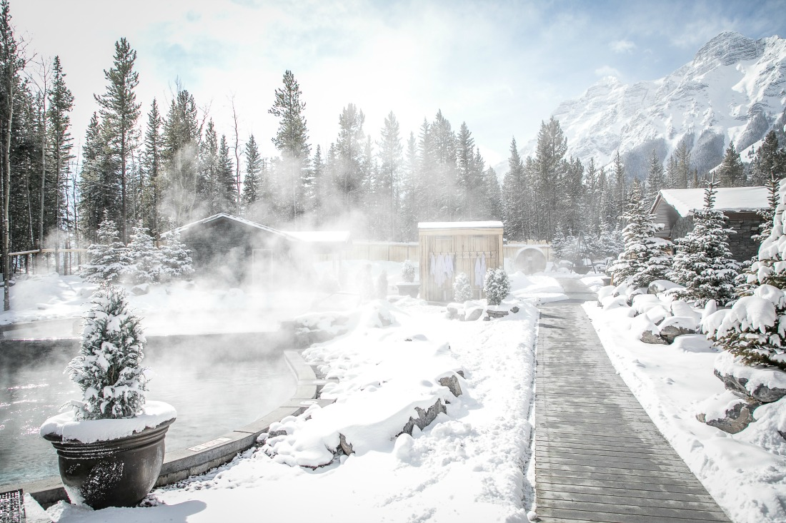 Looking for a Nordic spa in the Kananaskis? Look no further....