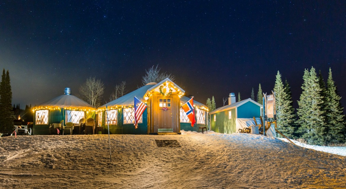 From Viking to Veuve, why you'll want to visit these yurts in Park City, Utah