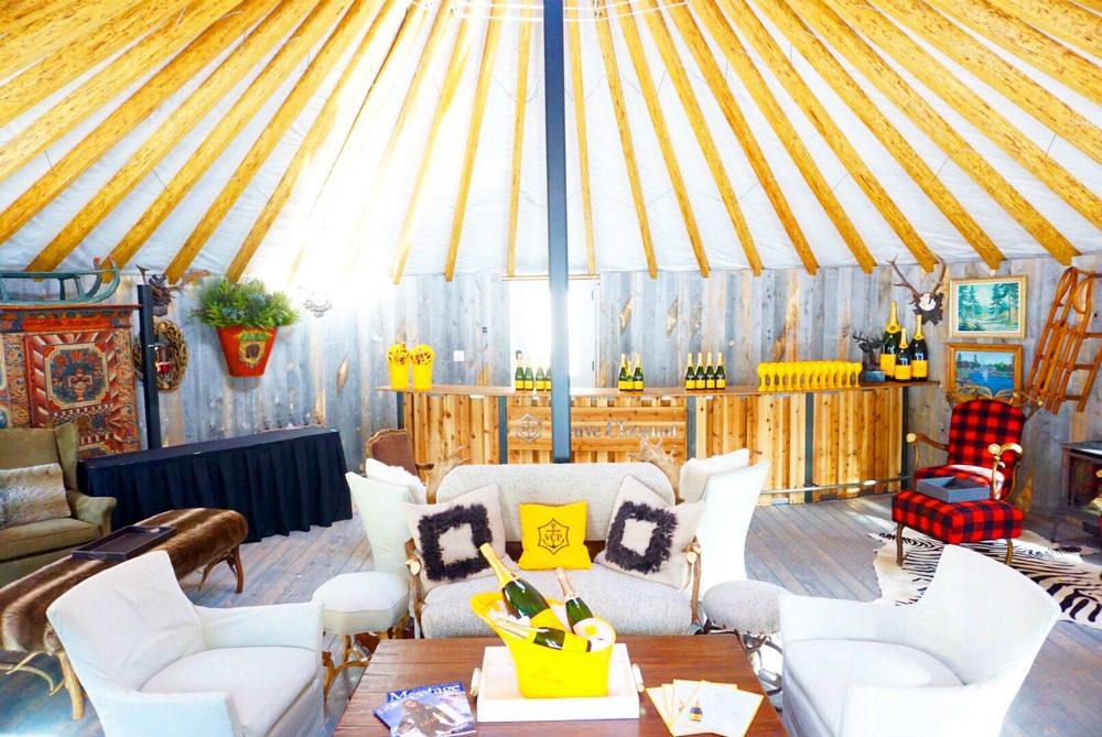 glamping luxury yurt