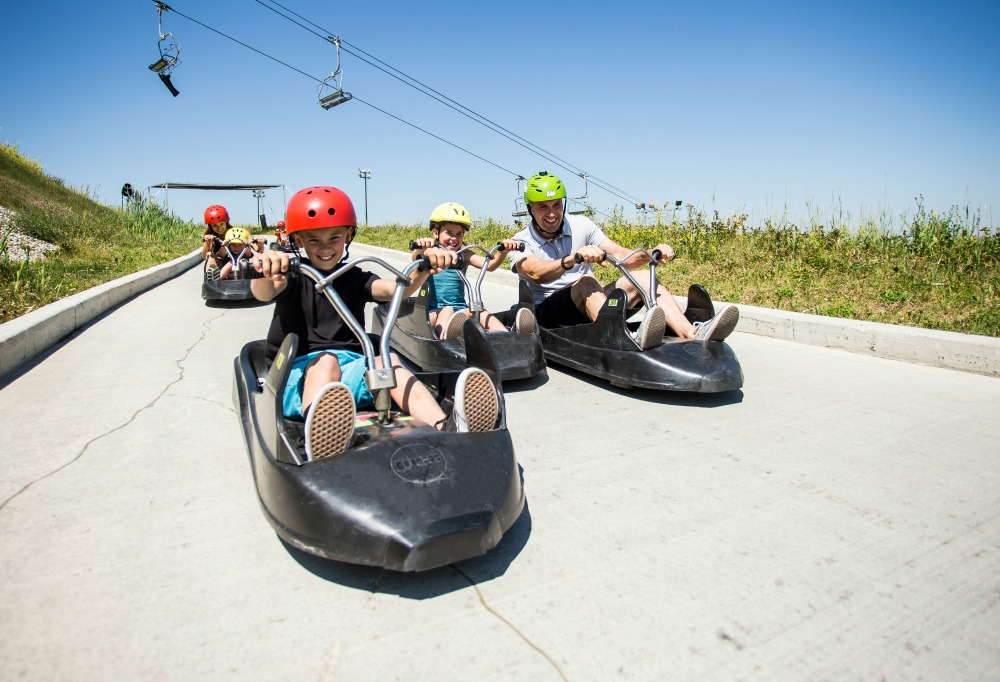 summer luge course