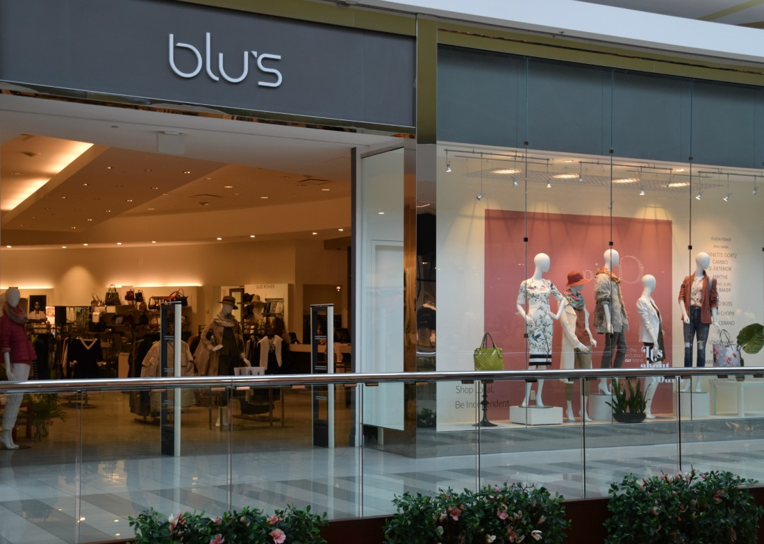 $100 Giveaway from Blu's: The best boutique for women's clothing in Calgary and Edmonton
