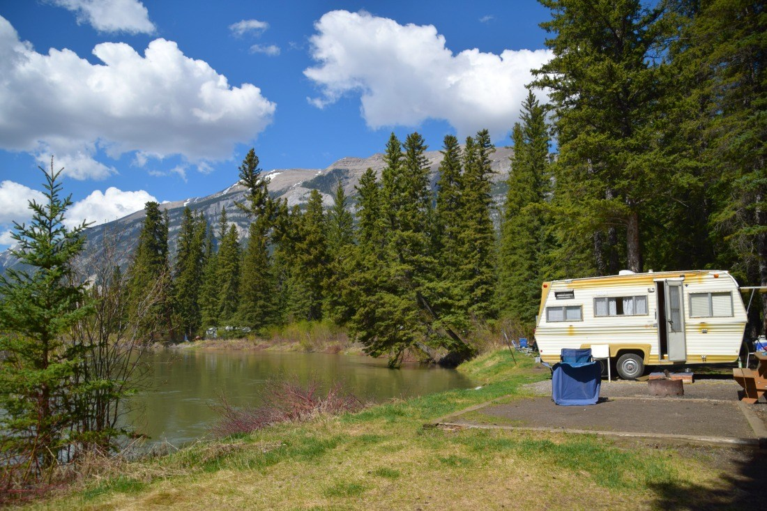Three sisters campground canmore alberta