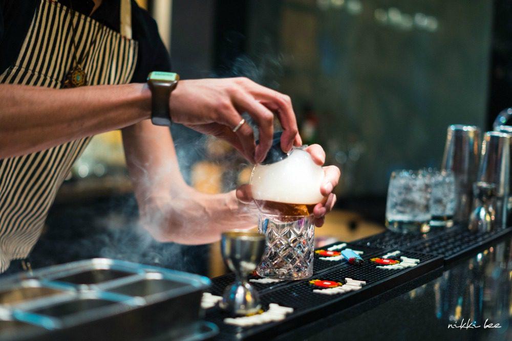 whisky cocktail at sushi Calgary lounge