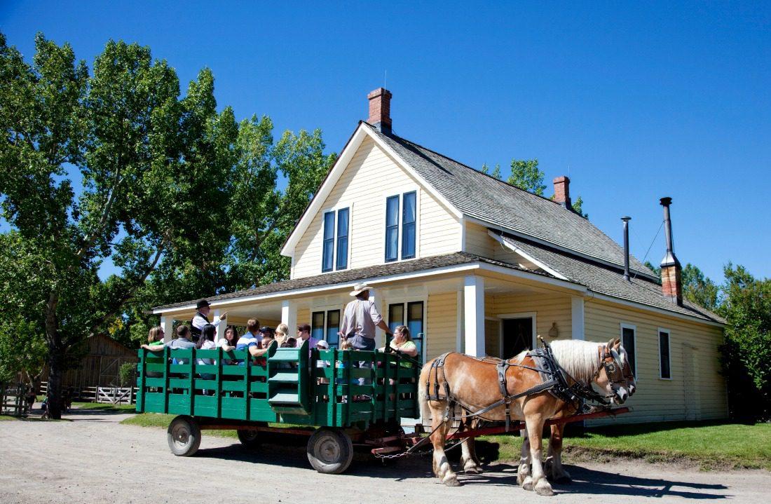 wagon rides calgary