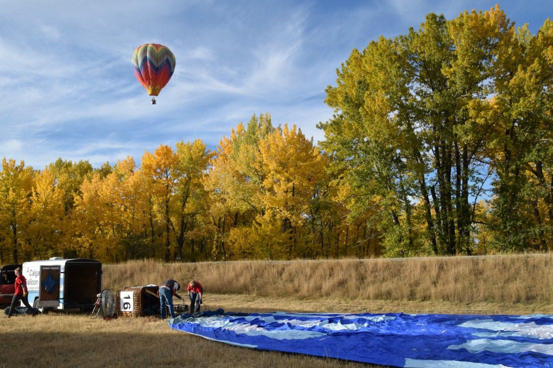 balloons high river festival