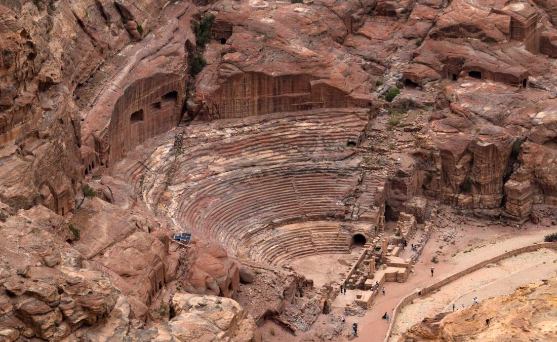 roman coliseum in Petra jordan