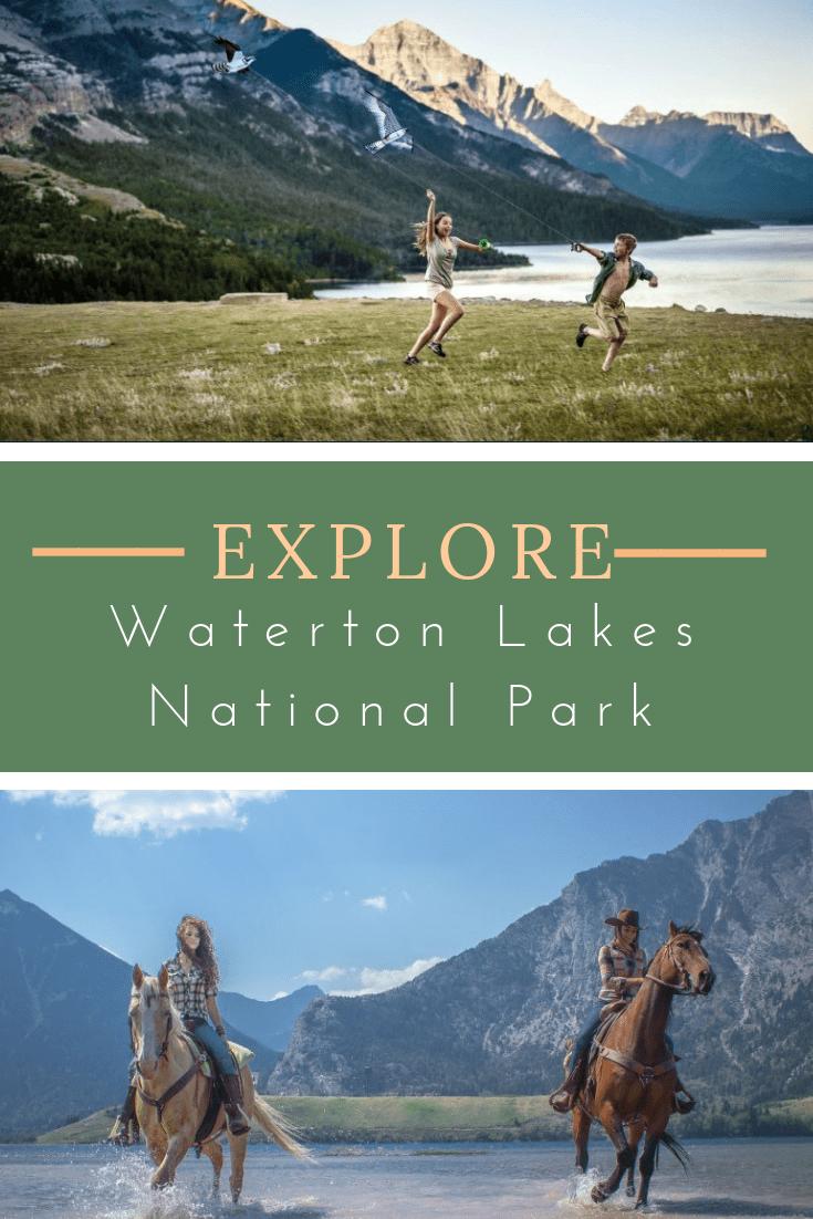 family activities Waterton Lakes