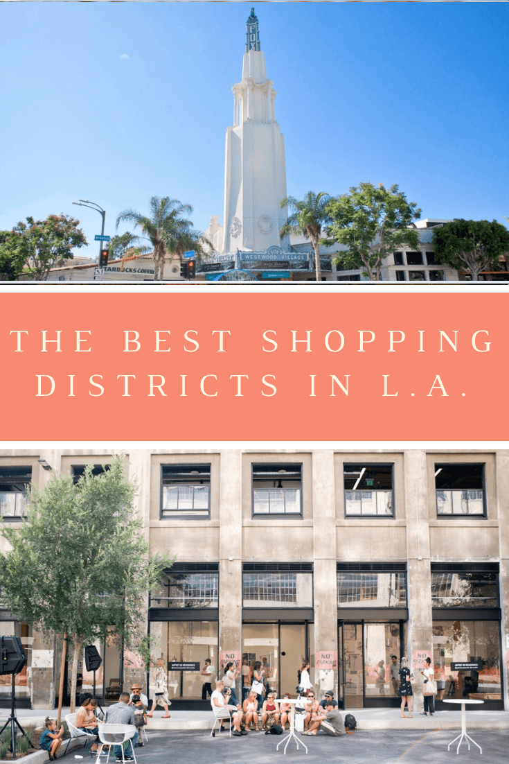 best places to shop in LA