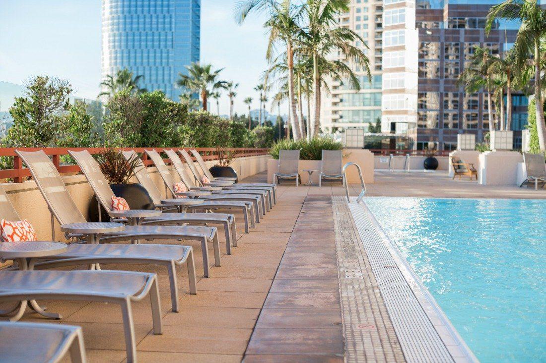 Intercontinental Century City pool
