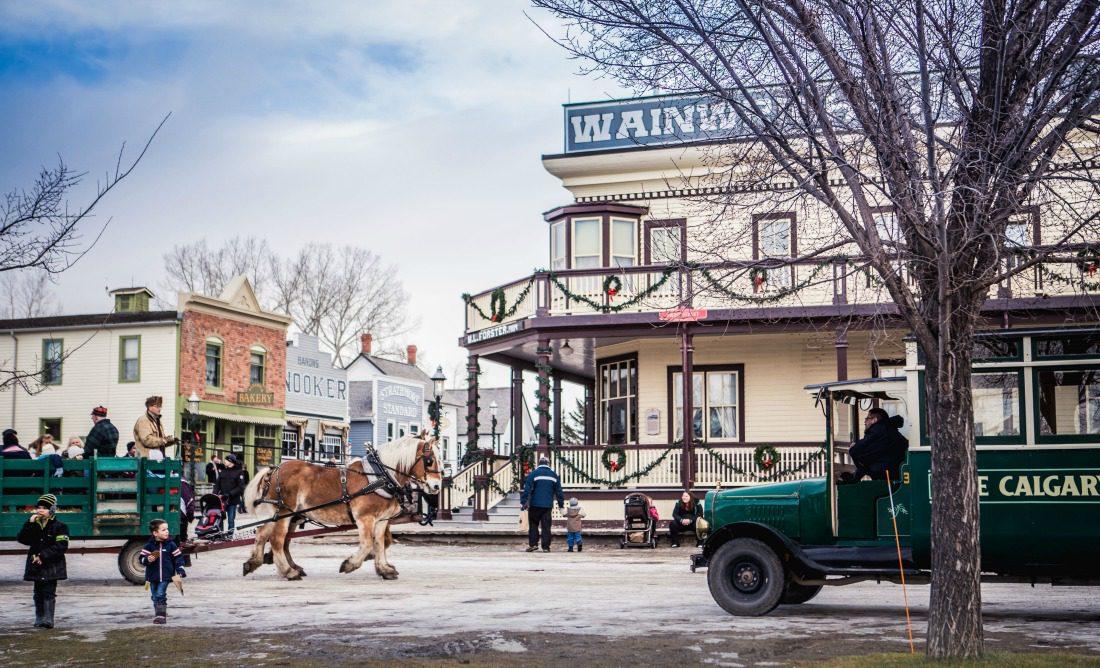 Once upon a Christmas Heritage Park Calgary