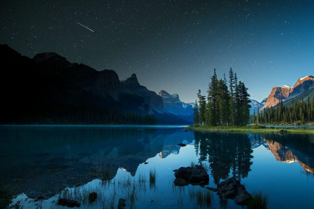 Jasper National Park spirit island