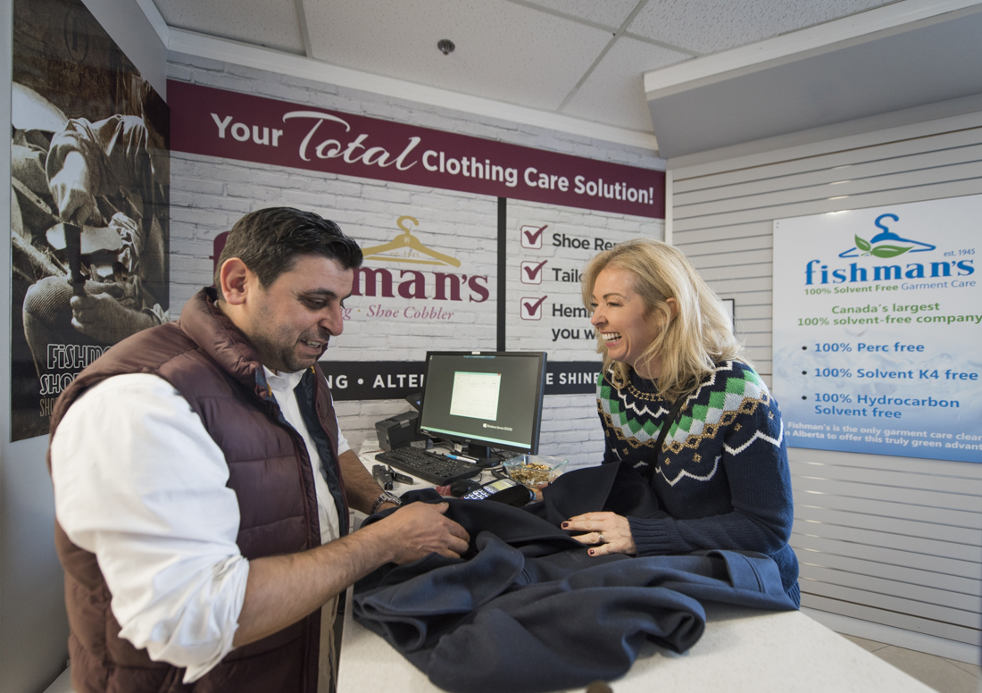 calgary dry cleaning