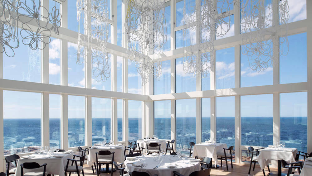 seaside dining room