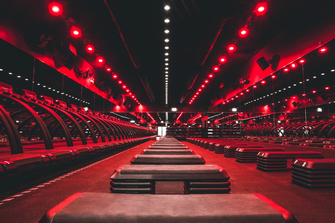 Barry's bootcamp red room