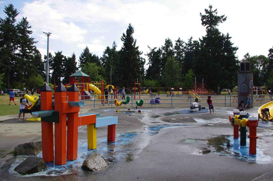 Parksville splash pad