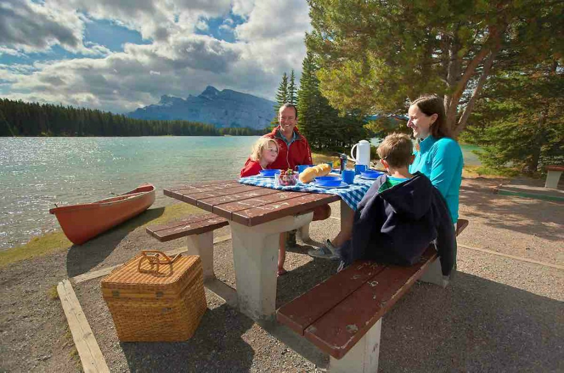 Two_Jack_Lake campground