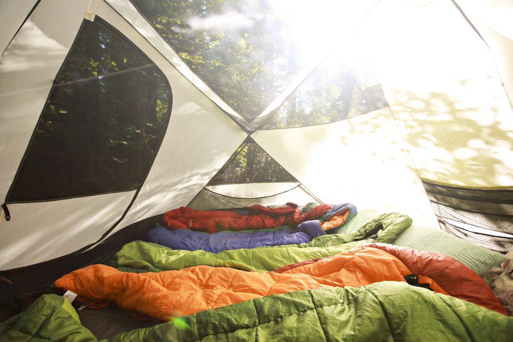 camping near banff