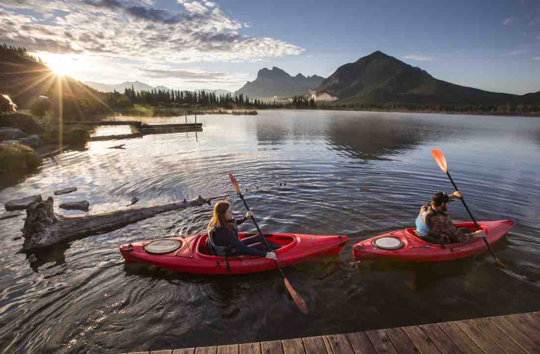 Banff Kayaking 101: Everything you need to know!