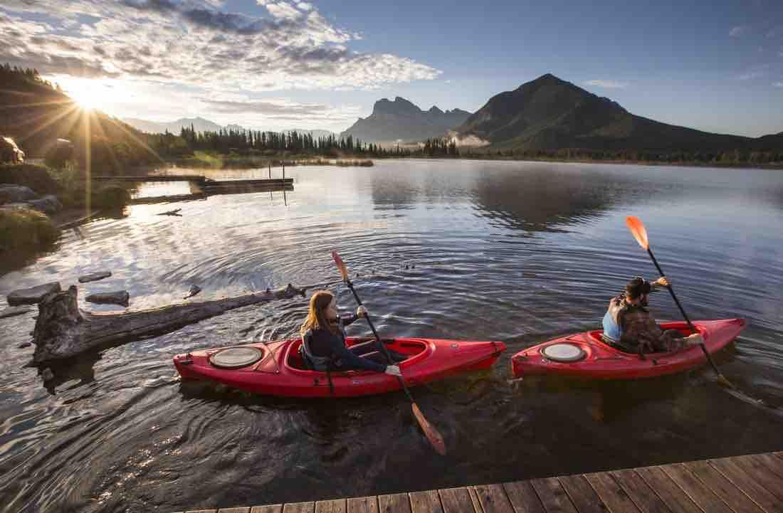 Banff Kayaking 101: Everything you need to know!