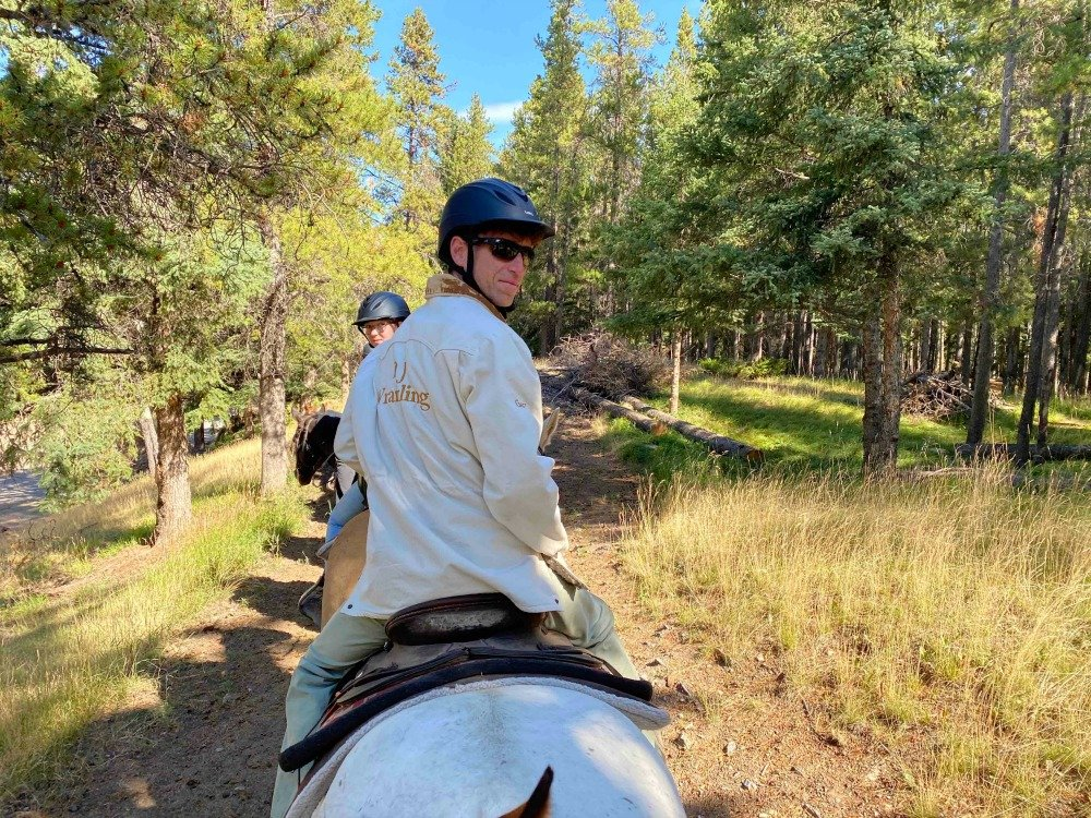 Banff trail ride