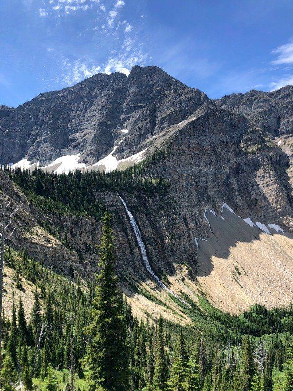 Crypt Lake falls