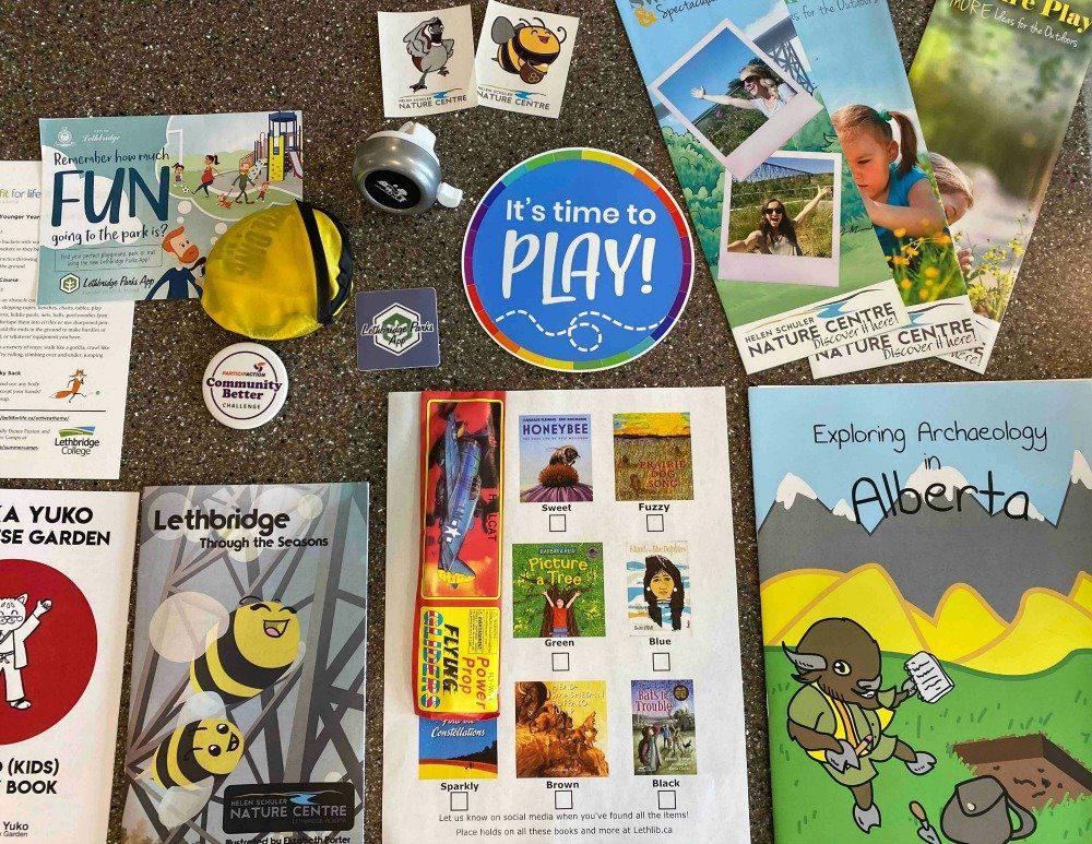 children's museum activity bag