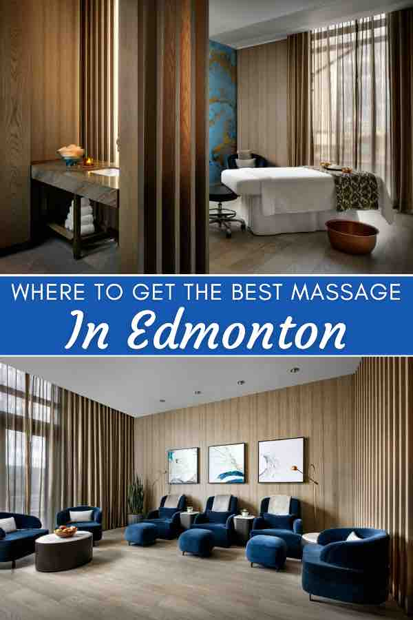 Best places for massage in Edmonton