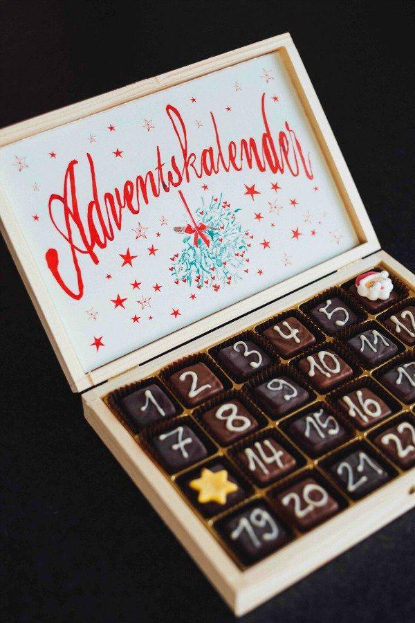 German chocolate Advent calendar