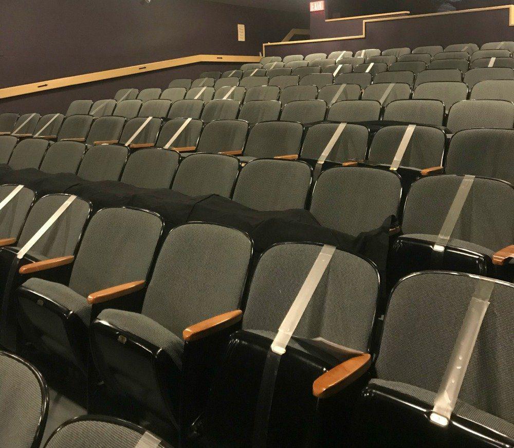 COVID theatre seats
