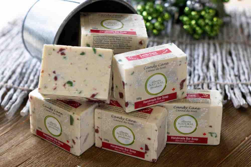 handmade holiday soap