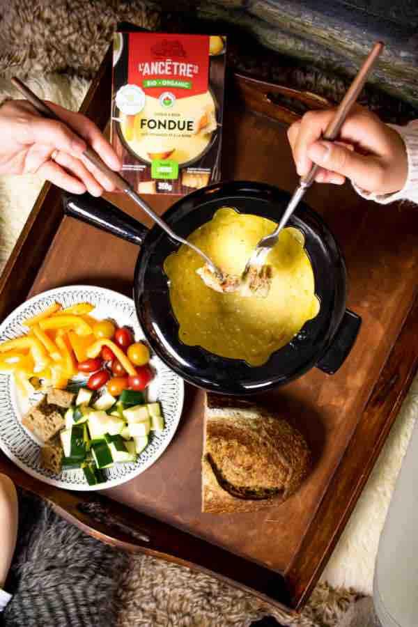 Christmas fondue
