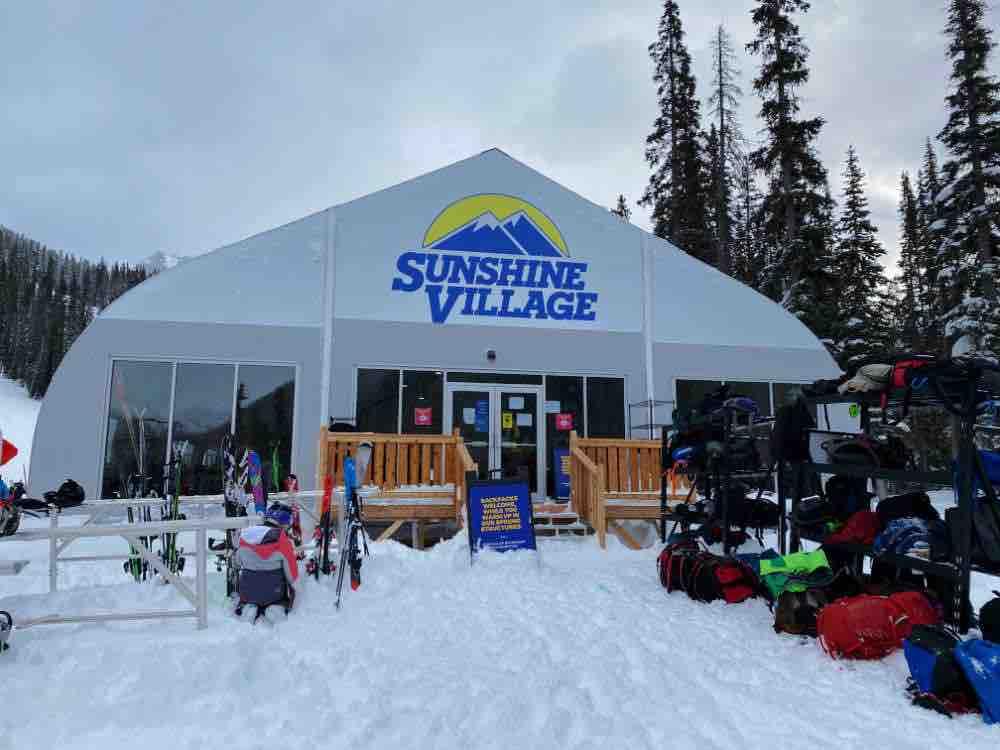 covid ski tent