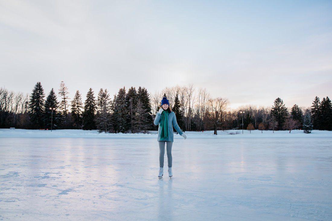 best outdoor rinks Calgary