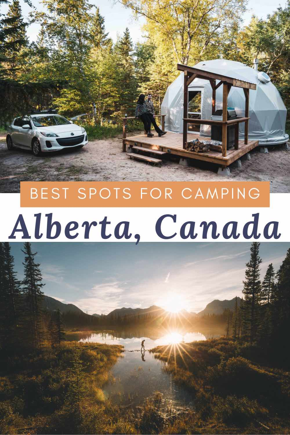 Where to camp in Alberta