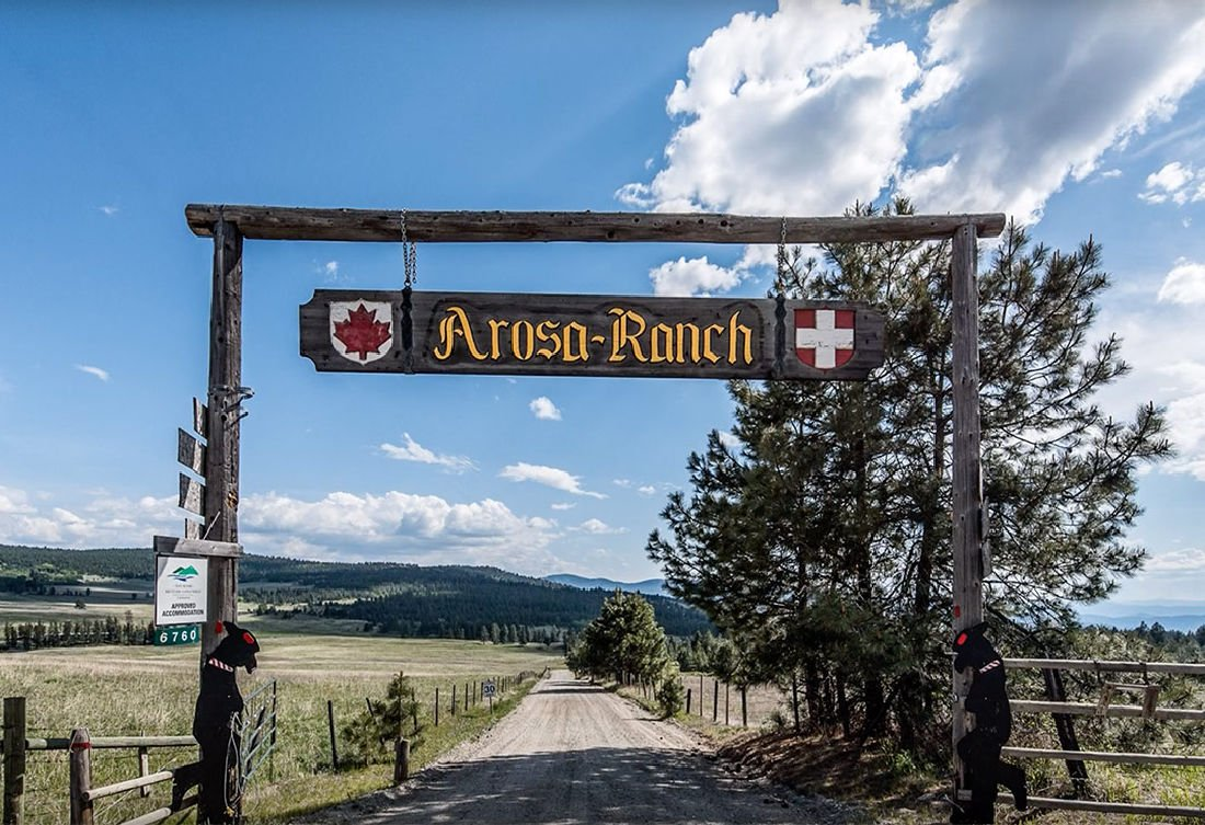 western ranch sign