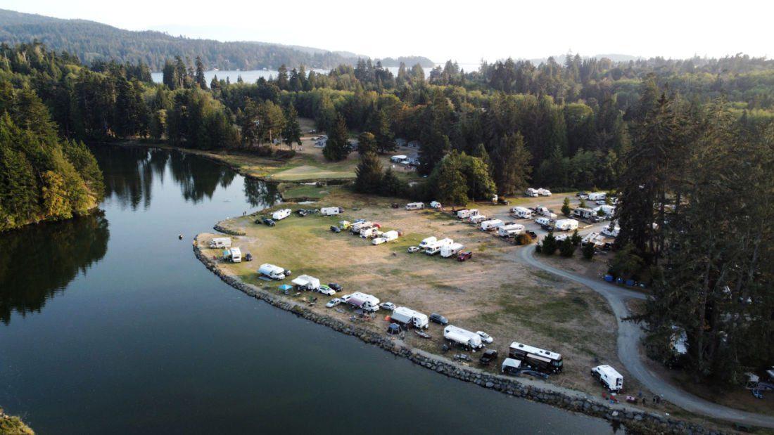 private camping sooke
