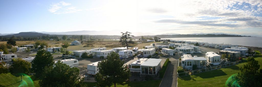 Parksville private campground