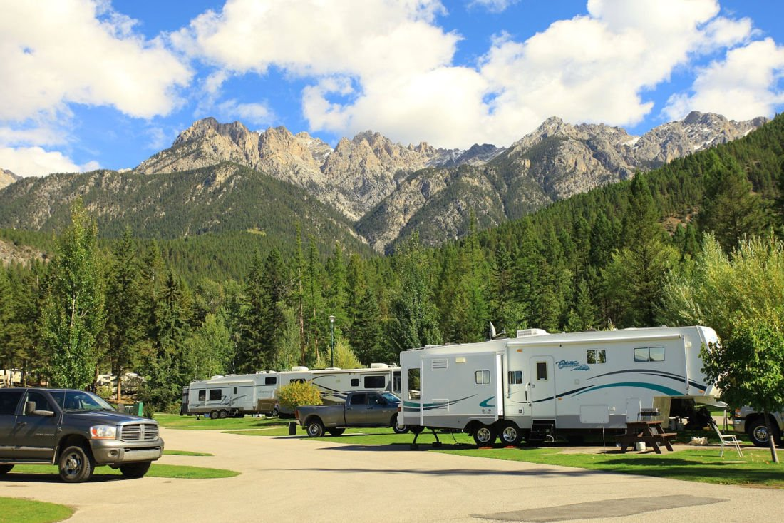 private campgrounds BC
