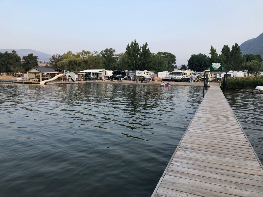 campground on the water