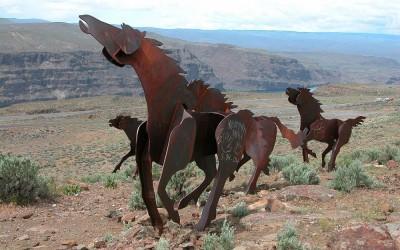 Wild Horse Monument, Washington State
