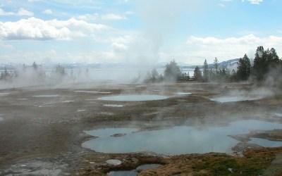 Yellowstone West Thumb, Wyoming