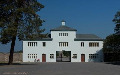 Ingang Concentratiekamp Sachsenhausen, Sachsenhausen, Duitsland, 18-5-2016