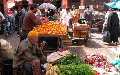 Markt in Marrakech, Marokko, 2006