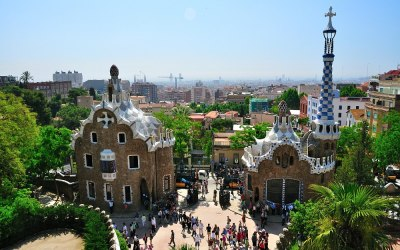 Barcelona, Park Gruëll
