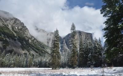 USA - Yosemite NP, Yosemite Valley and El Capitan