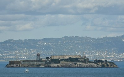 Uitzicht op Alcatraz, San Francisco, USA, 2011