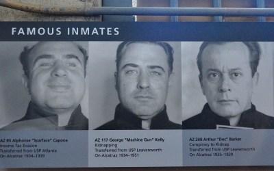 Al Capone in Alcatraz, San Francisco, USA, 2011