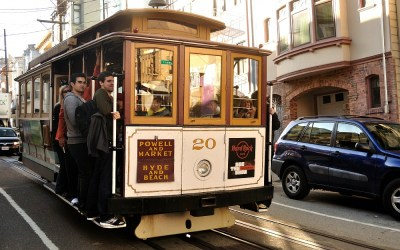 Traditionele Tram, San Francisco, USA, 2011