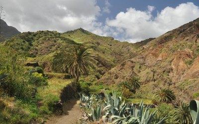 La Gomera, rondwandeling Hermigua