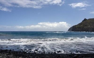 La Gomera, strand bij La Galeta